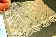 SugarVeil - how to make sugar lace