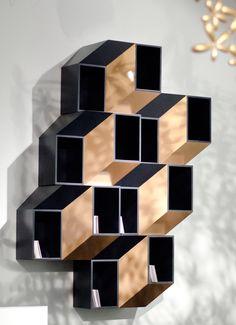 Copper Shelf at Design / Miami