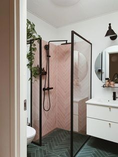 Bathroom tips, master bathroom renovation, bathroom decor and bathroom organizat. Bathroom tips, master bathroom renovation, bathroom decor and bathroom organization! Small Bathroom Inspiration, Bad Inspiration, Laundry Room Inspiration, New Bathroom Ideas, Best Bathroom Designs, Bathroom Pictures, Complete Bathrooms, Small Bathrooms, Small Bathroom Plans