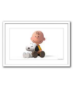 Look at this #zulilyfind! Peanuts Best Friends Framed Giclée Print #zulilyfinds