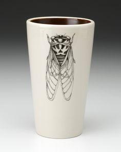 Laura Zindel Design - Tumbler: Cicada, $42.00 (http://www.laurazindel.com/tumbler-cicada/)