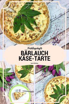 Bärlauch Käse Tarte bei Isa's Kitchen