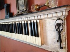 I'm hoping to make this (or my dad make this) with the old keys from our piano we tore apart. I hated to see it go!