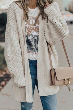 Long Loose Loose Cardigan Sweater In Spring And Autumn