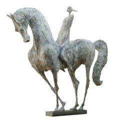 La cavalière ‹ Raghad Sculpture