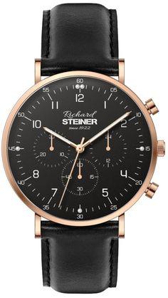Richard Steiner Generation One Gentleman, Watch Brands, Leather, Fashion, Accessories, Designer Clocks, Pointers, Leather Cord, Branding