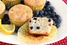 Lemon Berry Cream Cheese Muffins & FREE E-Cookbook! | Southern Plate | Bloglovin'