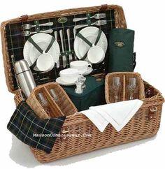 Wedgwood Picnic Basket