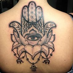 This one is definitely my favorite! Thank you for turning my scribbles into a masterpiece! Lotus with a Hamsa. Pretty Tattoos, Love Tattoos, Body Art Tattoos, Tattoos For Women, Script Tattoos, Arabic Tattoos, Hamsa Tattoo Design, Hamsa Hand Tattoo, Tattoo Designs