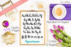 Free Brush Calligraphy Practice Worksheets. Work on your brush calligraphy with the ten pages of practice sheets in this free PDF! | dawnnicoledesigns.com