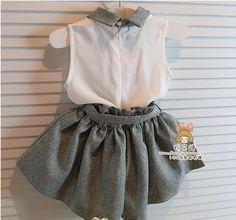 $7.19 (Buy here: https://alitems.com/g/1e8d114494ebda23ff8b16525dc3e8/?i=5&ulp=https%3A%2F%2Fwww.aliexpress.com%2Fitem%2FBaby-girl-clothes-set-summer-chiffon-clothing-children-and-kids-high-quality-baby-girls-clothing-kids%2F32327049934.html ) Baby girl clothes set summer chiffon clothing children and kids high quality baby girls clothing kids set suit with belt retial for just $7.19