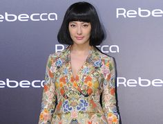 Chinese actress Zhang Yuqi attends a Rebecca launch event in Beijing, China, November 26, 2011