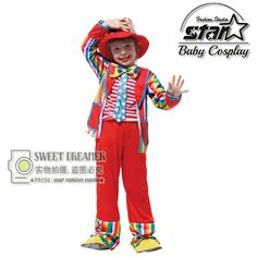 >> Click to Buy << Halloween Costumes Kids Children Circus Clown Costume Naughty Joker Fancy Fantasia Infantil Cosplay Clothing for Boys Girls  #Affiliate