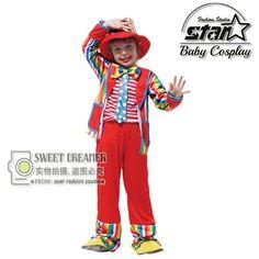 $25.00 (Buy here: https://alitems.com/g/1e8d114494ebda23ff8b16525dc3e8/?i=5&ulp=https%3A%2F%2Fwww.aliexpress.com%2Fitem%2FHalloween-Costumes-Kids-Children-Circus-Clown-Costume-Naughty-Joker-Fancy-Fantasia-Infantil-Cosplay-Clothing-for-Boys%2F32720793802.html ) Halloween Costumes Kids Children Circus Clown Costume Naughty Joker Fancy Fantasia Infantil Cosplay Clothing for Boys Girls  for just $25.00