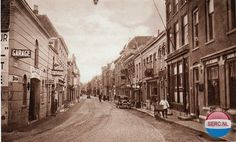 Westwagenstraat Gorinchem (jaartal: 1930 tot 1940) - Foto's SERC Holland, Street View, Photos, The Nederlands, The Netherlands, Netherlands