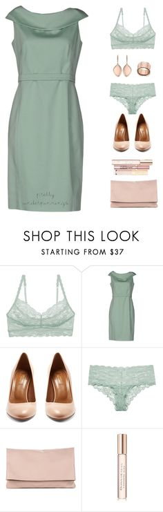 """Pretty Underpinnings"" by sereneowl ❤ liked on Polyvore featuring Cosabella, Ivan Montesi, Aquazzura, Sole Society, L'Oréal Paris and Dolce&Gabbana"