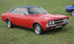 Ford Cortina vinyl roof