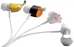 Are these not the cutest earbuds you've ever seen?