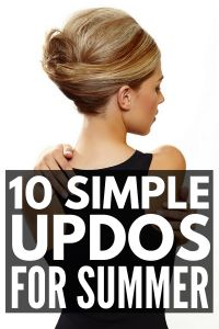10 Summer Hairstyles for Medium Hair Looking for the perfect hair updos for summer Weve rounded up 10 easy stepbystep hair tutorials for shoulder length hair that are pe. Hairstyles For Medium Length Hair Tutorial, Summer Hairstyles For Medium Hair, Hair Tutorials For Medium Hair, Easy Updos For Medium Hair, Side Hairstyles, Medium Hair Styles, Straight Hairstyles, Short Hair Styles, Wedding Hairstyles