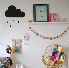 Big cloud pattern Wall Sticker  50*30cm