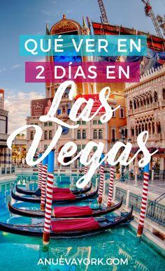 Qué ver en Las Vegas en un fin de semana. Casinos, atracciones y excursión por libre a la presa Hoover. #LasVegas #EstadosUnidos