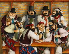 Cowboys, Photoshop, Cartoon, Crafting, Painting, Style, Folklore, Country Man, Caricatures