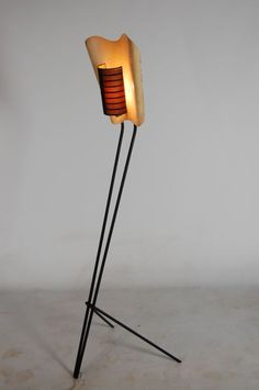 Michel Buffet; Floor Lamp for Jacques Biny, 1954.