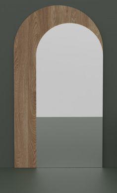 TROMPE L'OEIL XXL   Alain Gilles - mirror - xxl - perspective - wood