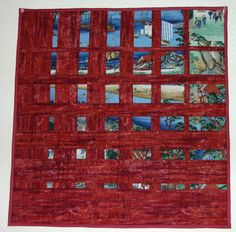 5 Convergence paysage. Interesting take on a convergence quilt.