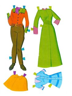 PD298 Outfits from Josie and the Pussycats Paper Dolls (2)