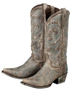 Lane Boots Women's 'Love Sick' Cowboy Boots - Distressed Brown $248.00