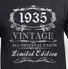 80th birthday Gift T Shirt Funny 80th birthday by DesignDepot123