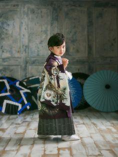 Kimono for kids, Laquan Studio. #Japan