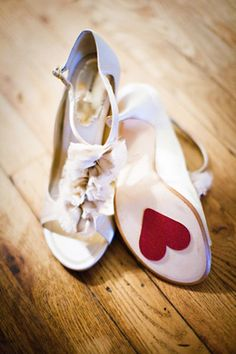 brides of adelaide magazine - pink and red - hearts wedding - valentines - ribbons - bridal shoes