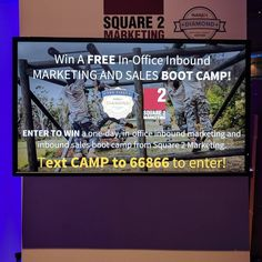 Win a free one-day onsite inbound and boot camp! Text CAMP to 66866 to enter! Free In, Boot Camp, Inbound Marketing, Day, Instagram Posts, Get Ripped
