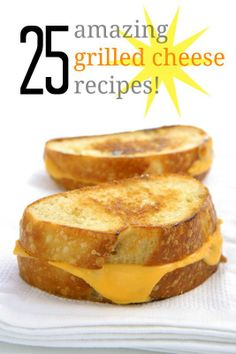 No matter how you slice it, grilled cheese is an all-American favorite! Recipes for everything from classics to creative.