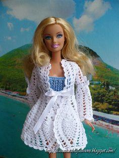 KasatkaDollsFashions: Пиджак с ананасами для куклы Барби