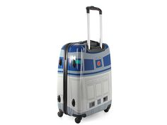 The perfect suitcase to travel the galaxy with.