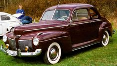 1941 Mercury Serisi 19A Sedan Coupé