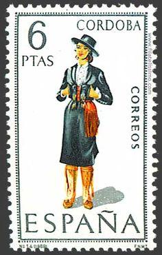 Collection of Spanish stamps:  1968 Córdoba