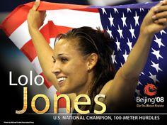 Lo Lo Jones Athlete http://www.trainedtuff.com