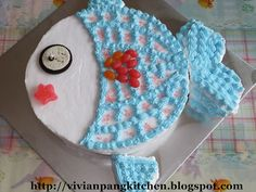 Adorable fish cake.