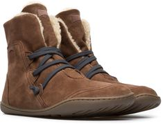 Camper Peu Brown Ankle boots Women 46477-037