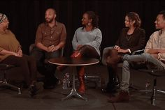 DEAR WHITE PEOPLE post-screening discussion recorded in May, 2014. Leola Johnson, Justin Simien, Effie Brown, Tessa Thompson and Tyler James Williams.