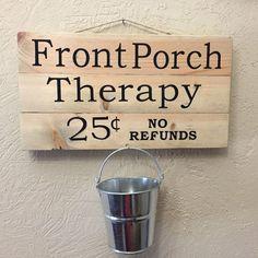 Image result for diy pallet sign porch