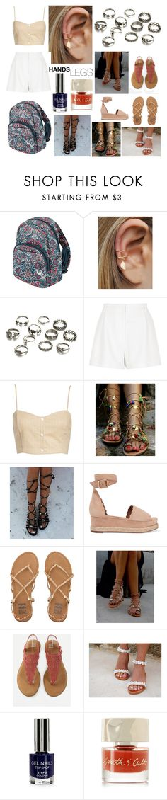 """😄🌺💥🏄🚣"" by inbal1605 ❤ liked on Polyvore featuring Travelon, River Island, Leith, Chloé, Billabong, Topshop and Smith & Cult"