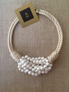 Isabelle necklace. Nautical accessorize me.