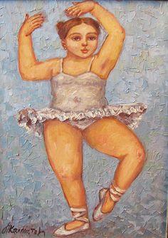 artist Kallistova Elena, Ballerina