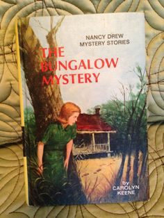 Nancy Drew 3 The Bungalow Mystery Vintage Book 1960 by WillowsLair, $4.99