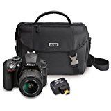#9: Nikon D3300 24.2MP SLR w/ 18-55mm VR II Lens Kit with Wifi Adapter and Case (Certified Refurbished)